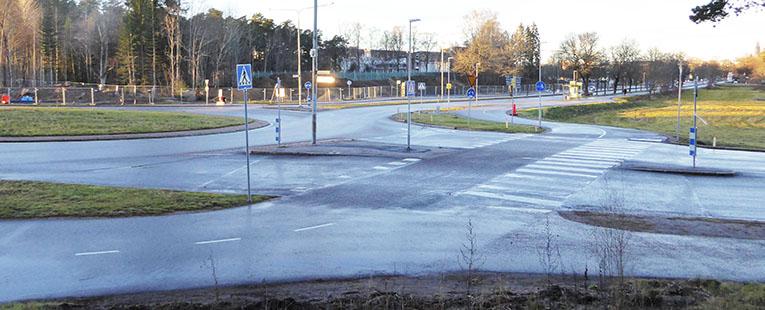 Cirkulationsplats Rondell Grindstugan