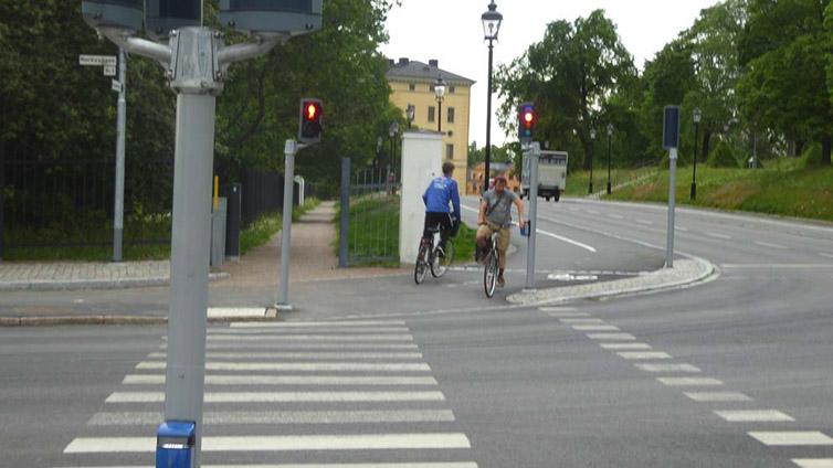 Cyklar mot strömmen