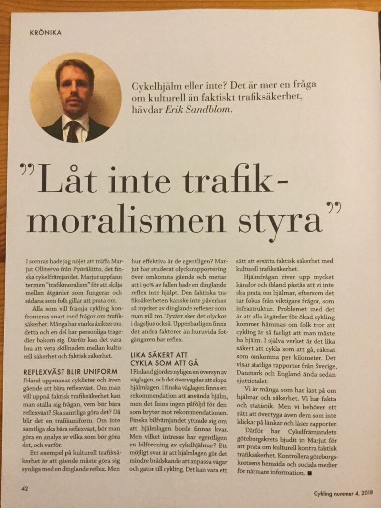 artikel om Marjut Ollitervo