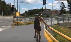 Koncept för sammanhängande cykelstråk